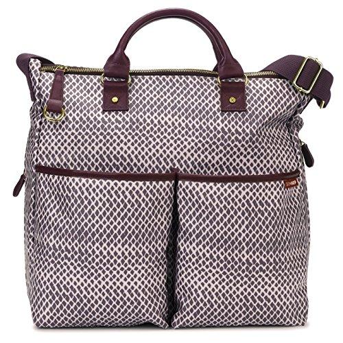 Skip Hop Duo Special Edition Diaper Bag, Plum Sketch 200308