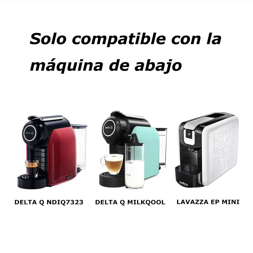 i Cafilas Cápsulas Filtros de Café Recargable Reutilizable para ...