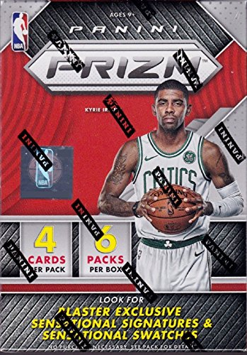 2017 2018 PRIZM NBA Basketball Series Unopened Blaster Box Made By Panini with 1 Autograph or Memorabilia Card Plus 3 Prizms Per Box on Average