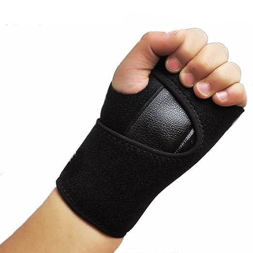 1 pieza izquierda o derecha correas de mano extraíble férula muñequera apoyo de la muñeca para túnel carpiano, tendinitis, síndrome de dolor de Wrap ...