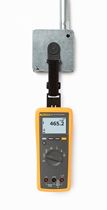 This best multimeter can capture readings of up to 65,000 sets of minimum and maximum average readings.