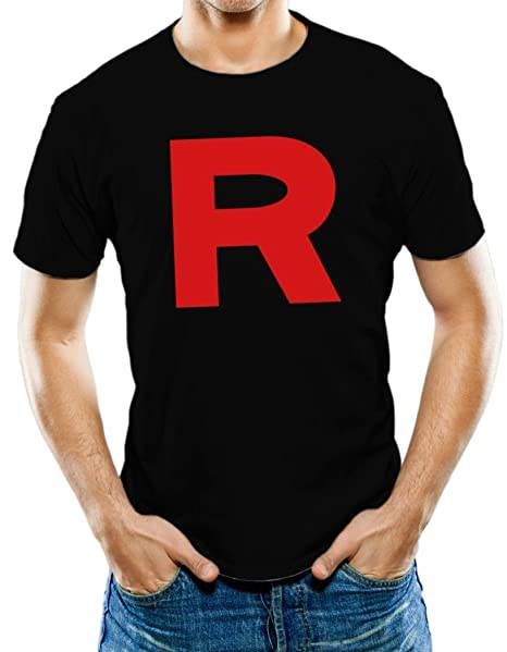 17a4b935 Amazon.com: Universal Apparel Men's Team Rocket R T-Shirt: Clothing