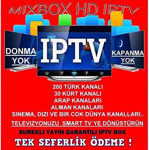 Mixbox HD IPTV Árabe, Kur disch, Turco TV sin suscripción: Amazon ...