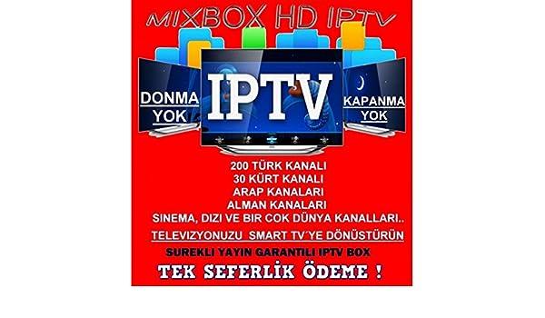 Mixbox HD IPTV Árabe, Kur disch, Turco TV sin suscripción: Amazon.es: Electrónica
