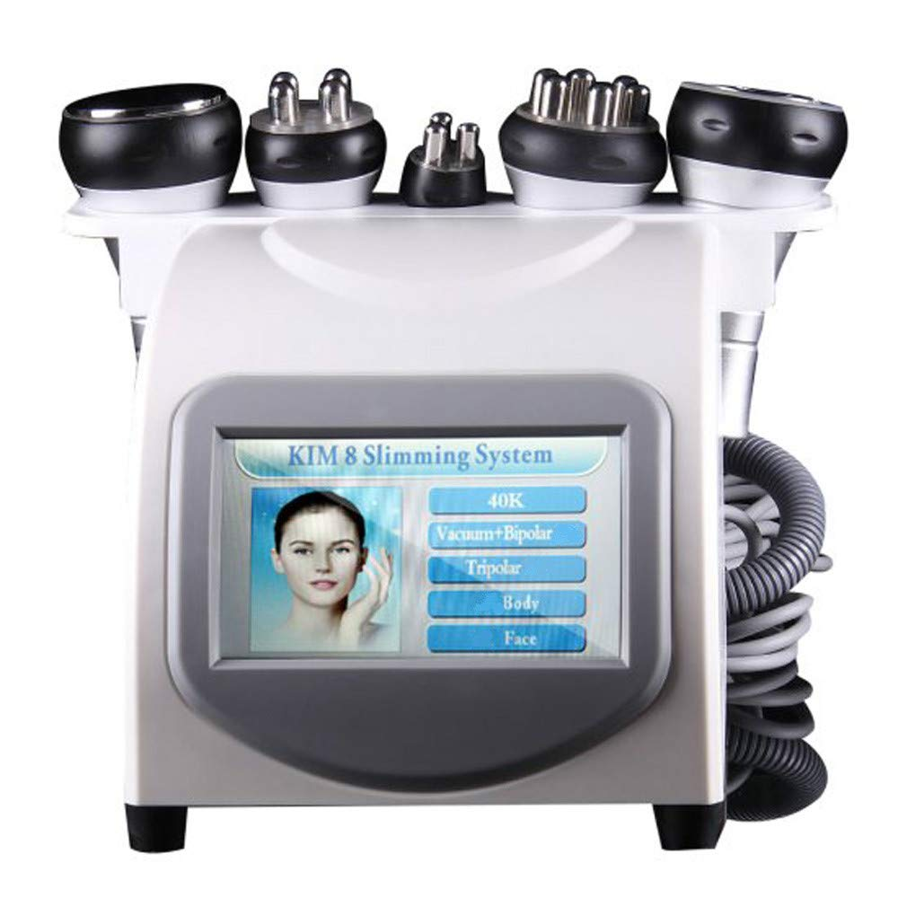 Zinnor Fat Slimming Machine Slimming Cellulite Machine 5 in1 Face Body Lifting Salon and Home Use Body Shaper Beauty Machine [2-5 Days Delivery to USA]