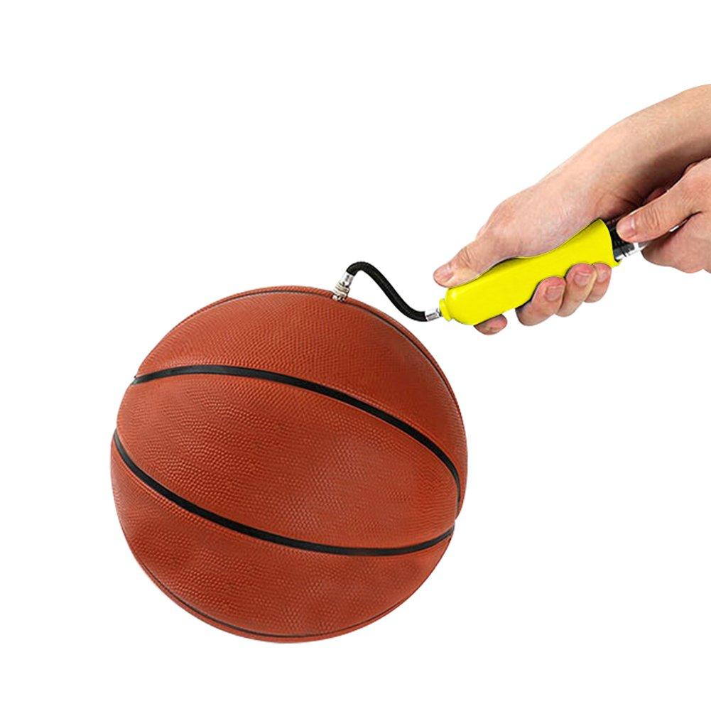 Favourall - Bomba de aire portátil para balón de fútbol, balón de ...