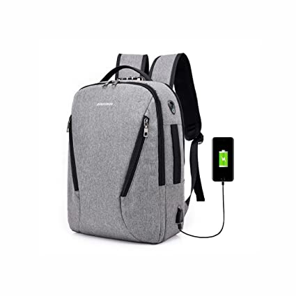 5a1d55568233 Amazon.com: YaXuan Anti Theft Laptop Backpack Rucksack With Lock ...