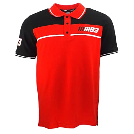 Marc Marquez 93 Panel Moto GP Polo camisa roja oficial Nuevo ...