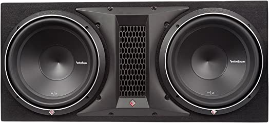 Rockford Fosgate Punch P2-2X12 P2 Dual 12 Loaded Enclosure Ported Subwoofer