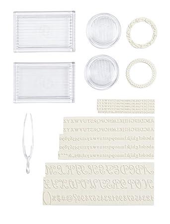 Martha Stewart setzen Sie Ihren eigenen Stempel Set: Amazon.de ...