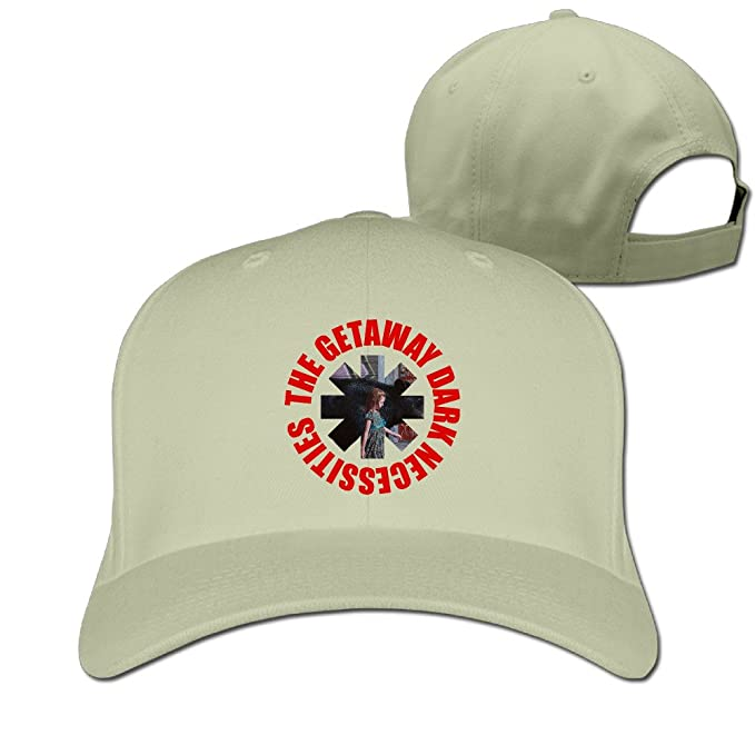 Unisex Customized Adjustable Red Hot Chili Peppers The Getaway Dark  Necessities Peaked Snapback Cap One Size 90b6ab254f66
