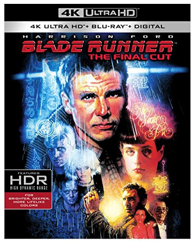4K Blu-ray : Blade Runner: The Final Cut (With Blu-Ray, Ultraviolet Digital Copy, Boxed Set, 4K Mastering, Dolby)