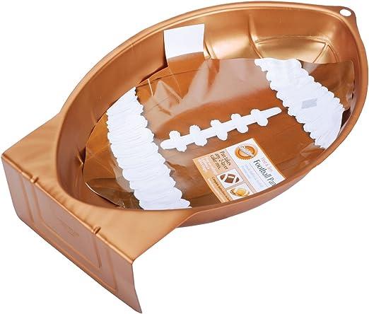Wilton First and Ten - Molde para Tarta, diseño de balón de Rugby ...