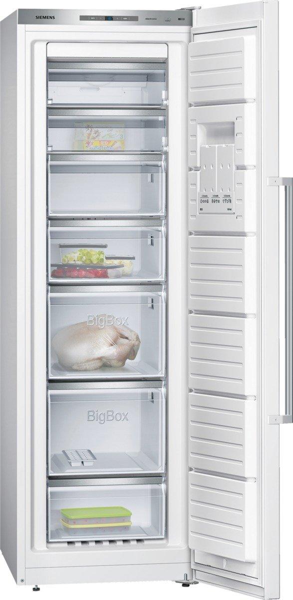 Siemens GS36NAW40 iQ500 Gefrierschrank / A+++ / 186 cm Höhe / 156 kWh/Jahr / 237 L Gefrierteil / Super Freezing [Energieklasse A+++]