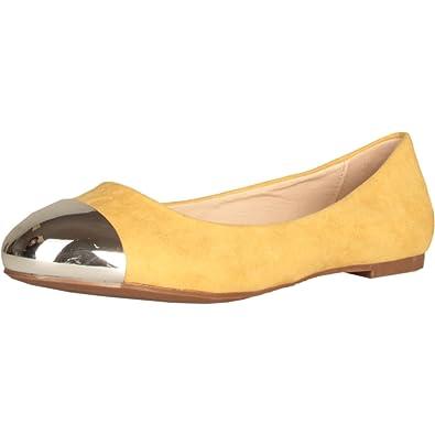 Gas Footwear Originals Damen Schuhe Ballerinas Ballet Flats gelb Sued