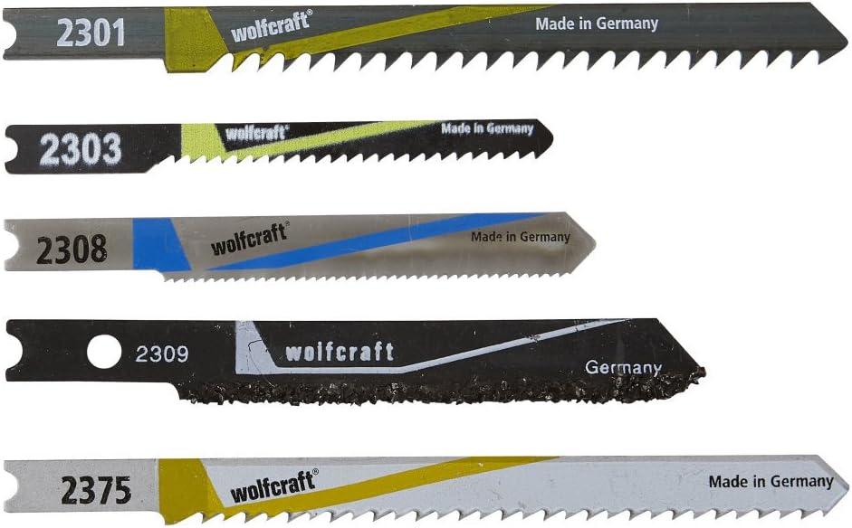 Stichsägeblätter T Schaft HCS f.Holz wolfcraft 6 Stück