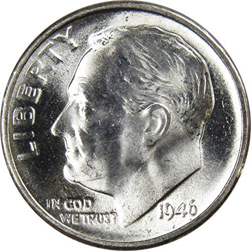 1946-S 10c Roosevelt Silver Dime Uncirculated Mint State