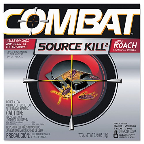 Combat 41913CT Source Kill Large Roach Killing System, Ch...