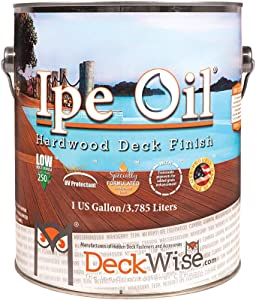 DeckWise Ipe Oil Hardwood Deck Semi-Transparent