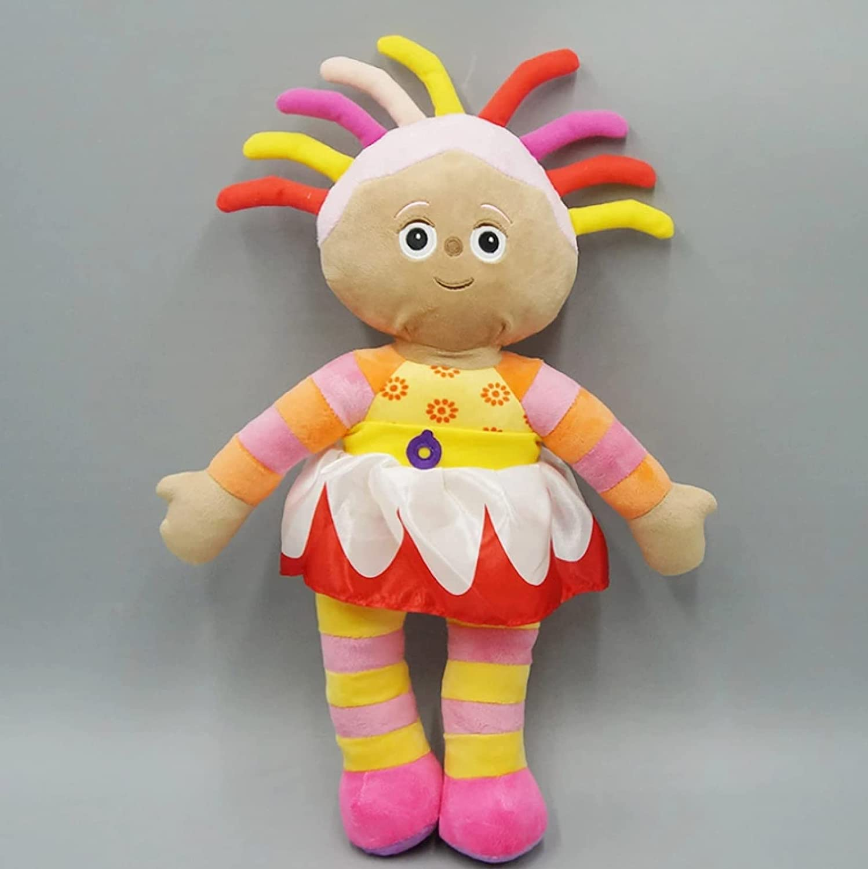 Linrunzi Lovely in The Night Garden Upsy Daisy Plush Toy Dolls, Cartoon Cute Soft Plushies, Stuffed Toys, Birthday for Children, 40Cm