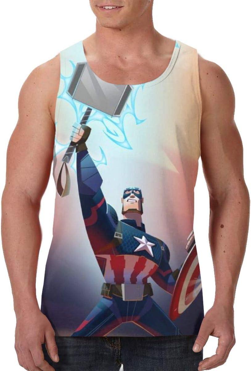 Yynn - Camiseta sin mangas para hombre, diseño de Capitán ...