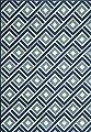 "Momeni BAJA0BAJ-7BLU1837, Baja Collection, 1'8"" x 3'7"", Blue"