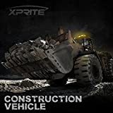 Xprite Amber Yellow 36 LED Rooftop Emergency Strobe
