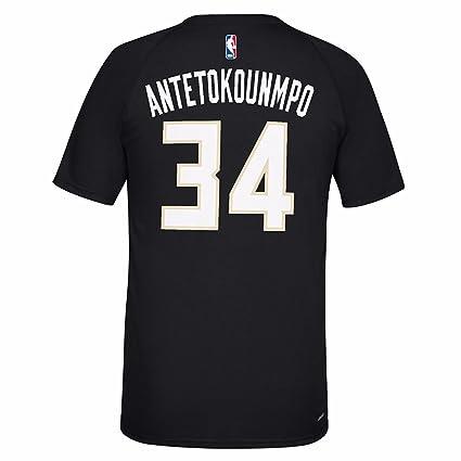 adidas Giannis Antetokounmpo Milwaukee Bucks NBA Reproductor ...