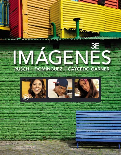 Download Imágenes: An Introduction to Spanish Language and Cultures (National Geographic Enhanced iLRN Solutions) Pdf