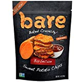 Bare Baked Crunchy Sweet Potato Chips, Barbeque, Gluten Free, 1.4 Ounce Bag, 8 Count