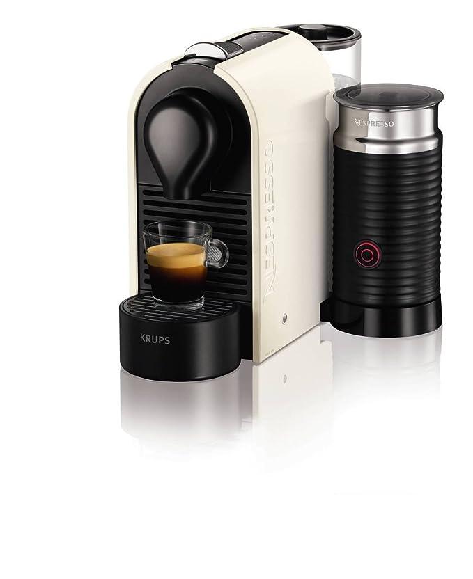 Amazon.com: Krups Nespresso U Coffee Maker Pure Cream ...