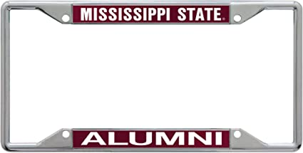 WinCraft NCAA Mississippi State University Metal License Plate Frame