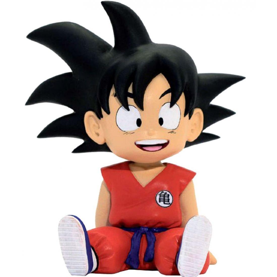 Dragonpro 599386031 - Hucha Dragon Ball - Goku Sentado (13,5cm) 80062