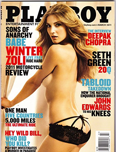 Playboy Magazine, March 2011