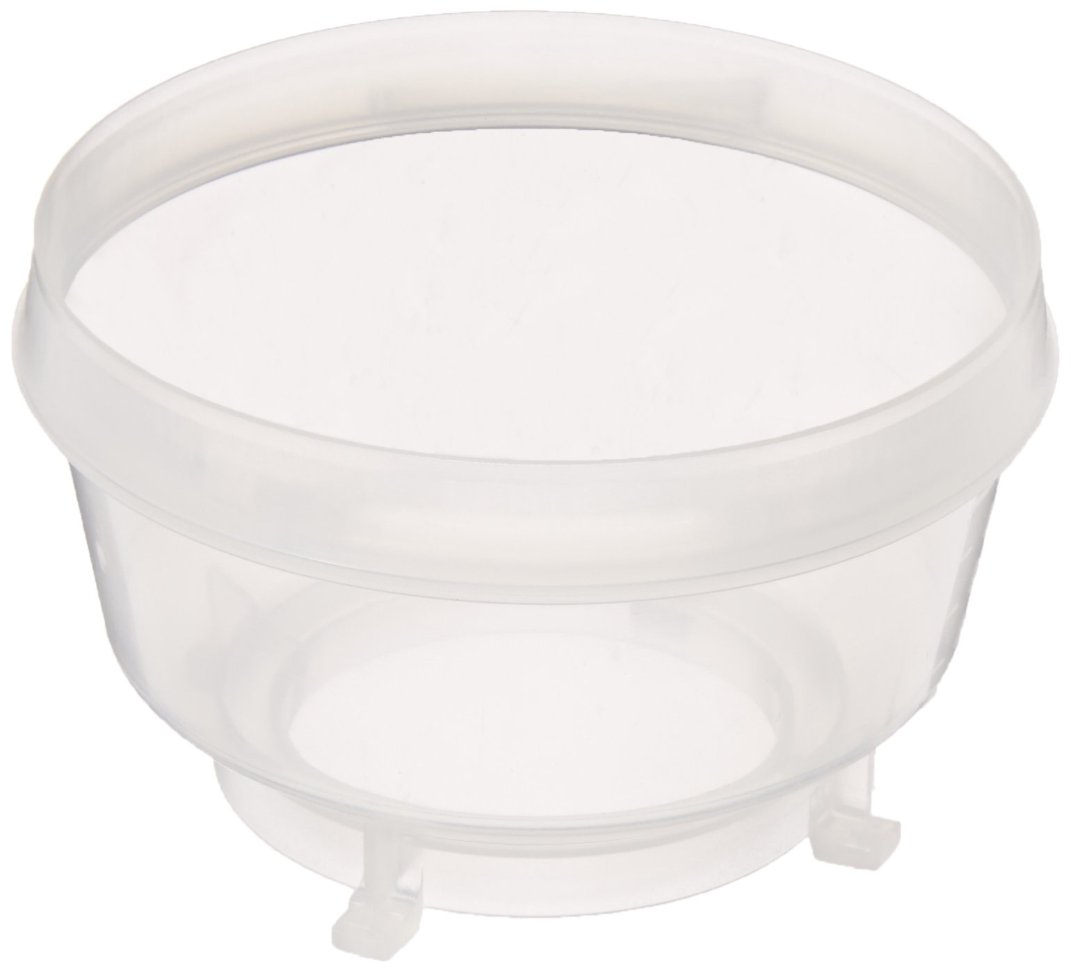 Whatman 10445861 Polypropylene MBS I Filtering Funnel, Autoclavable, 100mL Capacity