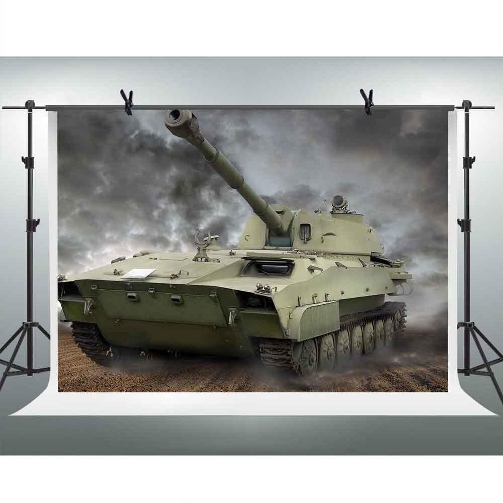 FHzON 10 x 7ftタンク写真バックドロップダーククラウドスカイ背景テーマパーティーYoutube Backdropsフォトスタジオ小道具pfh506   B07FZTW9QH