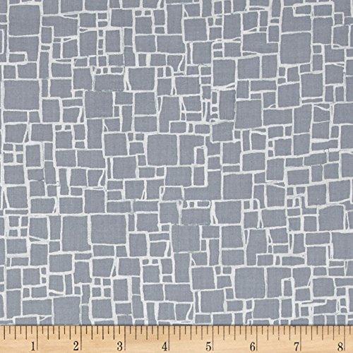 FreeSpirit Fabrics Shell Rummel Quiet Moments Jetty Fog Fabric by The Yard