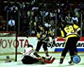 "Jaromir Jagr Mario Lemieux Pittsburgh Penguins 1992 Stanley Cup Finals Game 4 Action Photo (11"" x 14"")"