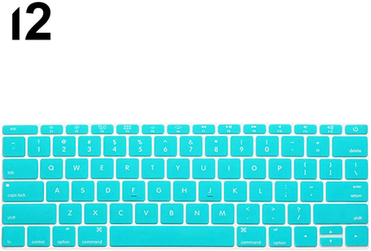 Keyboard Soft Case for MacBook Air Pro 13//15//17 inches Cover Protector-Orange