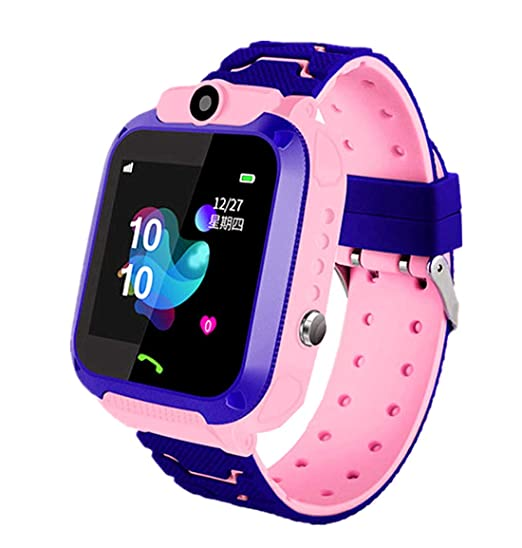 linyingdian Smartwatch Niños, Reloj Inteligente Niña IP67, LBS ...