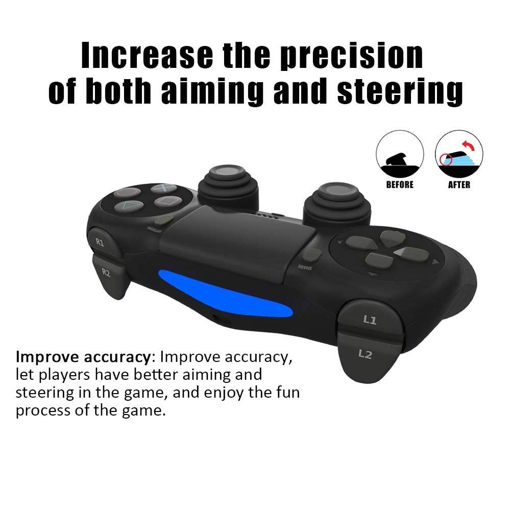 Jannyshop Auxiliary Ring Assist Gamepad Shooting Game Joystick Silicone Protection Ring for PS4//XB1//NS PRO