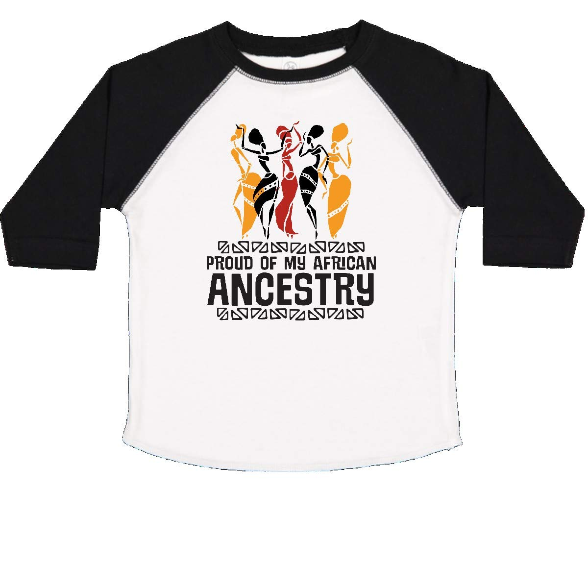 inktastic Black History Proud African Ancestry Toddler T-Shirt