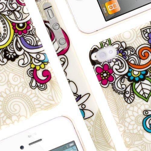 EMPIRE Signature Series Slim-Fit Case for Apple iPhone 4 / 4S ? White Split Paisley