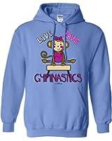 Sports Katz Womens 'Live Love' GYMNASTICS Hoodie