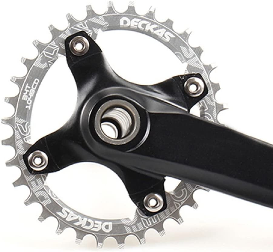 Anillo ovalado de cadena de aluminio MTB marca Grofitness para ...