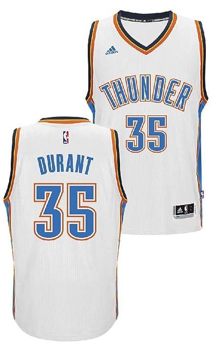 00e03a7c4b9b NBA Oklahoma City Thunder Kevin Durant Youth 8-20 Replica Home Jersey