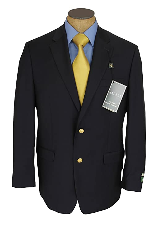 Ralph Lauren Mens Wool Notched Collar Sportcoat at Amazon Men's ...