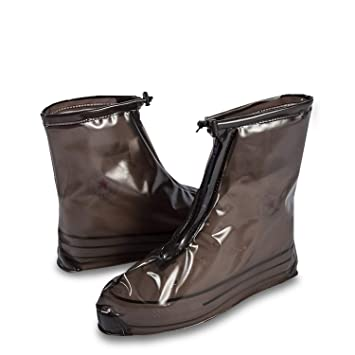 Rain Boot Reusable Rain Cover Shoes Waterproof Motorcycle Rain Boots Nonslip NEW