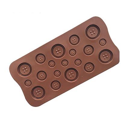 OUNONA Moldes para galletas de silicona antiadherente Moldes de pasta de azúcar Artesanía de azúcar Magdalena