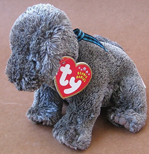 TY Beanie Babies Frisbee the Dog Plush Toy Stuffed Animal from Unknown